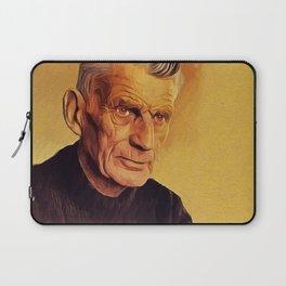 Samuel Beckett, Literary Legend Laptop Sleeve