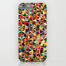 Star Cubes Geometric Art Print. Slim Case iPhone 6s