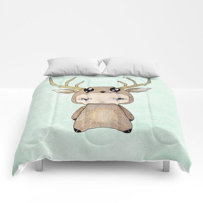 A Boy - Red Deer Comforters