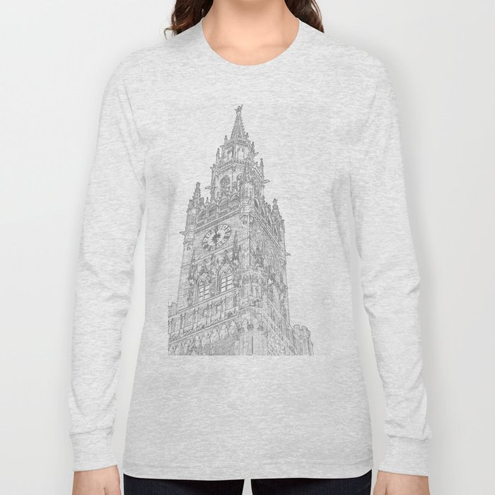 Tower of Big Ben Long Sleeve T-shirt