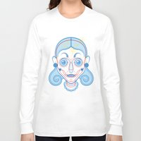 rare Long Sleeve T-shirts featuring A Rare Girl by Ukko