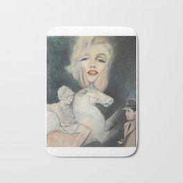 Marilyn - oh diese Männer! - Ölgemälde Bath Mat