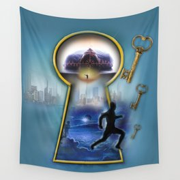 Operation Self Transformation  Wall Tapestry