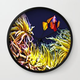 KEY WEST FISH Wall Clock