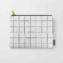 waterocolor windowpane Carry-All Pouch