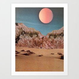 Castle Dune City Art Print