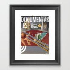 Vans and Color Magazine Customs Framed Art Print