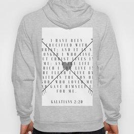Galatians 2:20 | Scripture Print Hoody