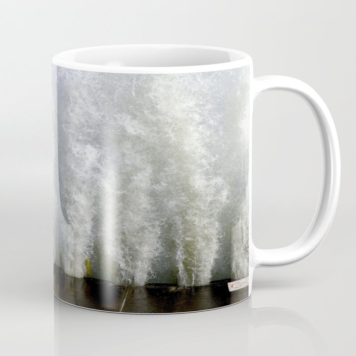 When Sandy Made Waves in Chicago #2 (Chicago Waves Collection) Coffee Mug