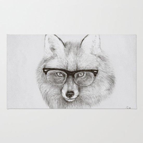 Fox Specs Rug