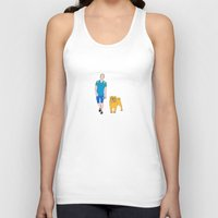 finn and jake Tank Tops featuring Jake and Finn by ΛDX7