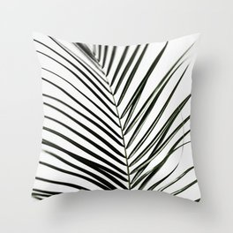 Palm Leaves 7 Throw Pillow