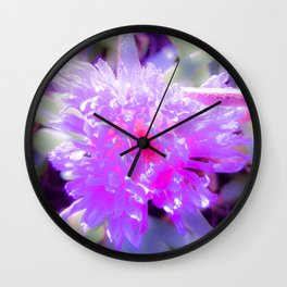 Beach Bloom Wall Clock