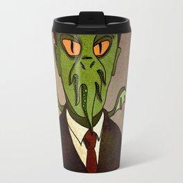 Prophets of Fiction - H.P. Lovecraft /Cthulhu Travel Mug