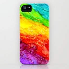 Color Flow #1 iPhone Case