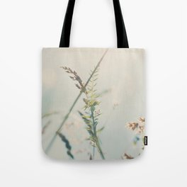 lying amongst the wild flowers dreaming my life away ... Tote Bag