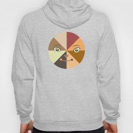 Multicultural Face (shirt) Hoody