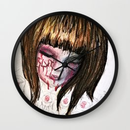 Scarred Child Halo Wall Clock