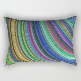 Striped fantasy Rectangular Pillow