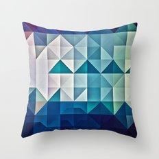 cool palette Throw Pillow