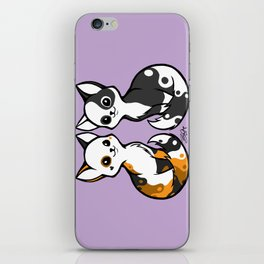 Yinyang Sisters iPhone Skin