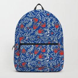 swedish christmas blue Backpack