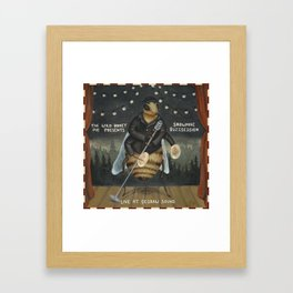 Snowmine Buzzsession Cover Art Framed Art Print
