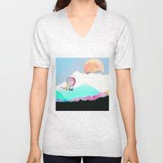 Magic Moon Unisex V-Neck