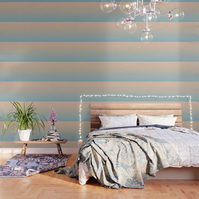 HALF MOON - Minimal Plain Soft Mood Color Blend Prints Wallpaper