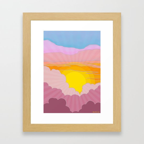 Sixties Inspired Psychedelic Sunrise Surprise by sunnybunny