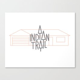 Indian Trail Canvas Print
