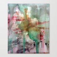 splatter Canvas Prints featuring Splatter  by Lizzshop