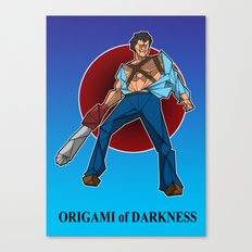 ORIGAMI of DARKNESS Canvas Print