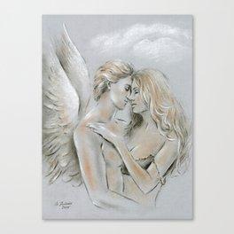 Angel on Earth Canvas Print