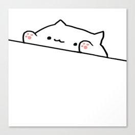 Bongo Cat Canvas Print