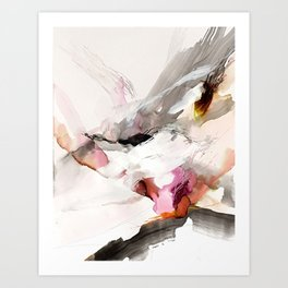 Day 23: Senses may override the mind, but a steady mind can abrogate the senses. Art Print