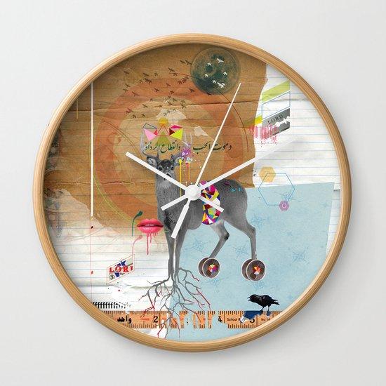Oh Deer! Wall Clock