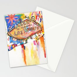 Las Angeles  Stationery Cards