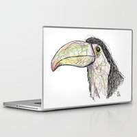 toucan Laptop & iPad Skins featuring Toucan by Ursula Rodgers