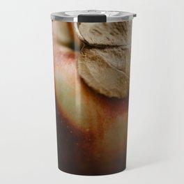 Apple Close Up Travel Mug