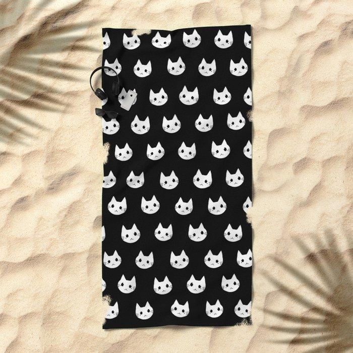 cats-395 Beach Towel