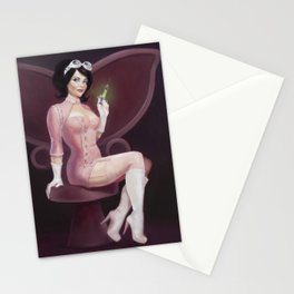 """""""Dr. Girlfriend"""" Pop Pin-Up Stationery Cards"""