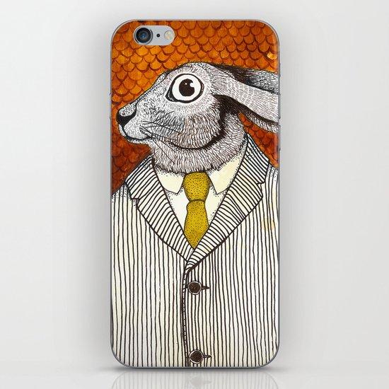 El conejo careta iPhone & iPod Skin