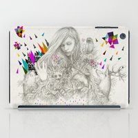 kris tate iPad Cases featuring ECHOES by Peter Striffolino and Kris Tate by Peter Striffolino