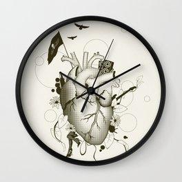 I Love Design Wall Clock