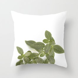Nerve Plant Throw Pillow