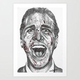 American Psycho Art Print