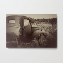 The Past Metal Print