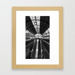 Amsterdam Central Station Framed Art Print
