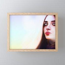 Psychedelic Evenings Framed Mini Art Print